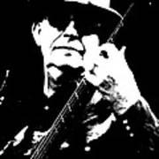 Dan K Brown - The Fixx - Bass Art Print