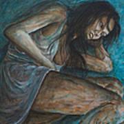 Danae Painting After Klimt Art Print
