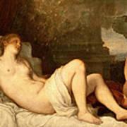 Danae Art Print by Titian