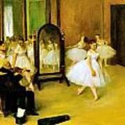 Dance Class 2 Art Print