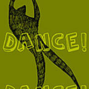 Dance Dance Dance Art Print by Michelle Calkins
