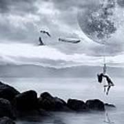 Dance In The Moon Art Print