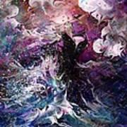 Dance In The Seas Art Print by Rachel Christine Nowicki