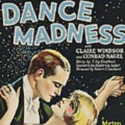 Dance Madness, From Left Conrad Nagel Art Print