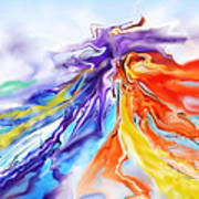 Dance Of Colors Art Print