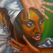 Dance Of Hands Art Print