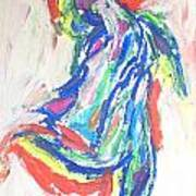 Dance Of The Rainbow Art Print