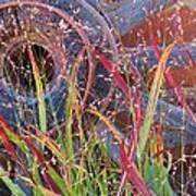 Dance Of The Wild Grass Art Print