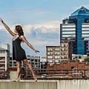 Dance The Durham Skyline Art Print by Jh Photos