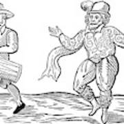 Dance The Morris, 1600 Art Print