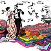 Dance Till The End Of Time Art Print
