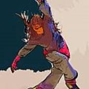 Dancer 40 Art Print