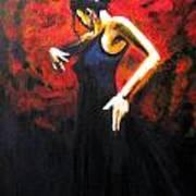Dancer Flamenco Art Print