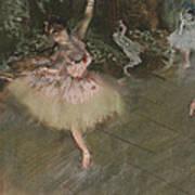 Dancer Taking A Bow  Art Print