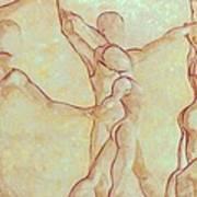Dancers - 10 Art Print