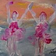 Dancers 135 Art Print