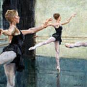 Dancers At Work Art Print