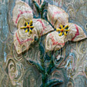 Dances With Flowers Art Print