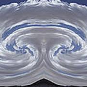 Dancing Clouds 2 Panoramic Art Print