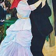 Dancing Couple  Art Print