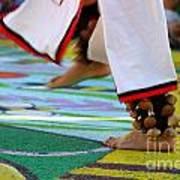 Dancing Feet Art Print