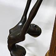 Dancing Female Figure Art Print