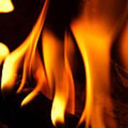 Dancing Flames Art Print