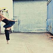 Dancing In A Junk Yard Art Print