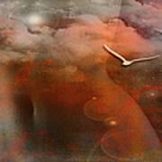 Dancing In Clouds... Art Print