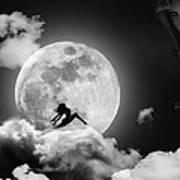 Dancing In The Moonlight Print by Alex Hardie