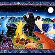 Dancing In The Moonlight Art Print by Harriet Peck Taylor