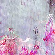 Dancing In The Rain - Abstract Art Art Print