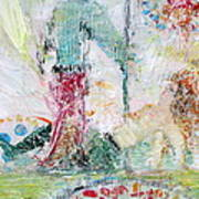 Dancing In The Seventies Art Print