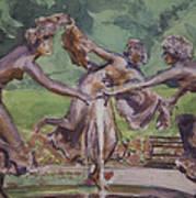 Dancing Maidens Art Print