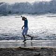 Dancing On The Beach Art Print