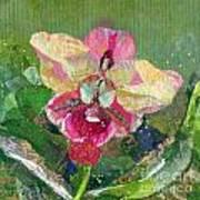 Dancing Orchid I Art Print