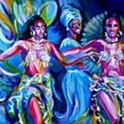 Dancing Panama Art Print