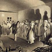 Dancing Party At Kagha-choura Art Print