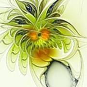 Dancing Petals Art Print