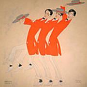 Dancing Song Art Print