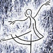 Dancing Swan Art Print by Kamil Swiatek