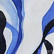 Dancing The Blues Art Print