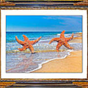 Dancing To The Beat Of The Sea Art Print