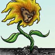 Dande-lion Art Print