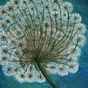 Dandelion Painting     Sold Art Print