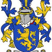 Daniel Coat Of Arms Irish Art Print