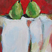 Danjour Pears  Art Print by Becky Kim