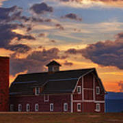 Danny's Barn Art Print by Darren  White