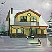 Dan's House Art Print