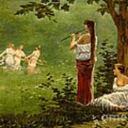Dans La Prairie 1890 Art Print